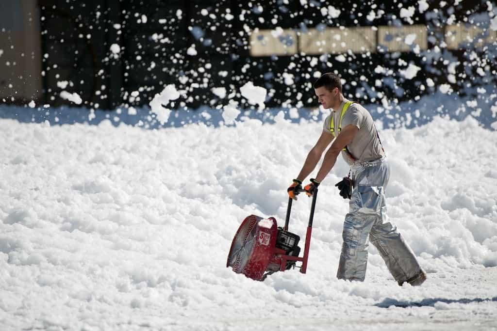 Risiken für Hausbesitzer ohne Winterdienst