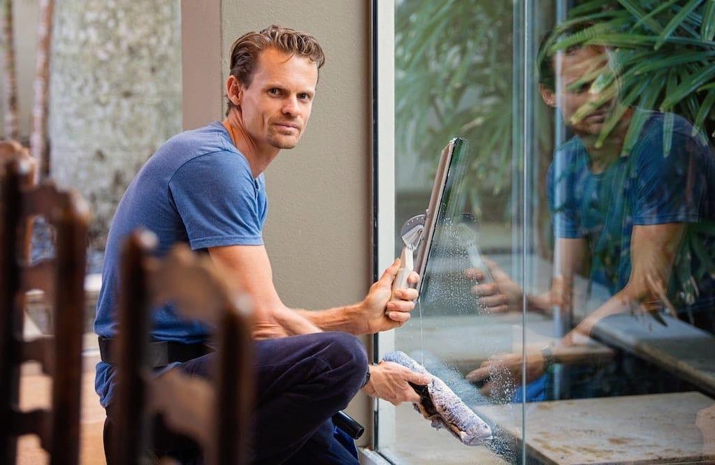 Reinigen von Fenstern Tipps