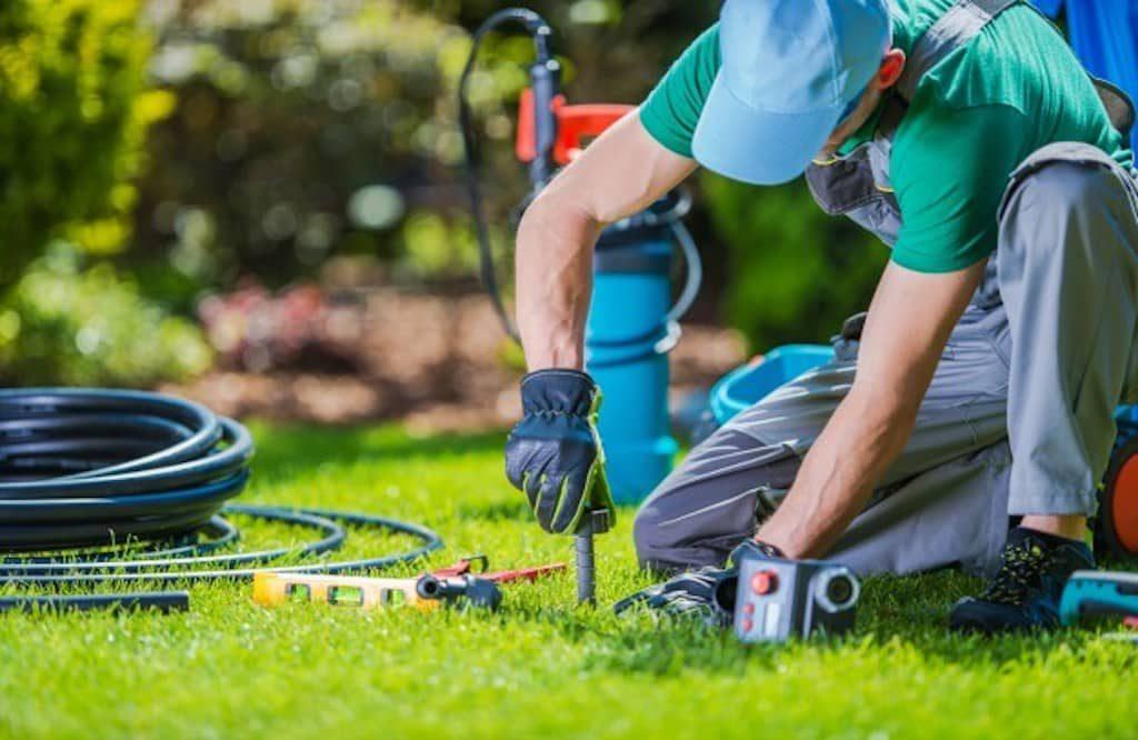 Professionelle Gartenarbeit