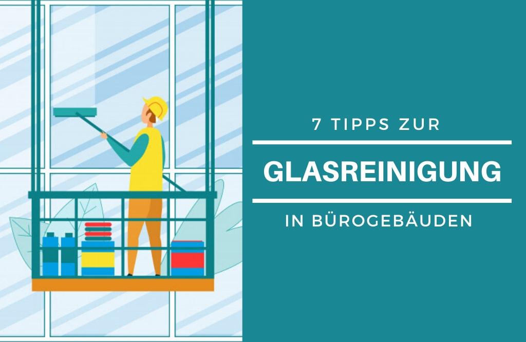 Glasreinigung in Bürogebäuden