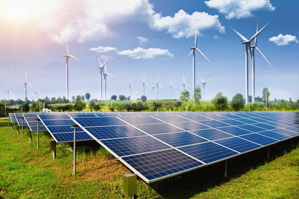 Reinigung von Photovoltaik-, und Solaranlage