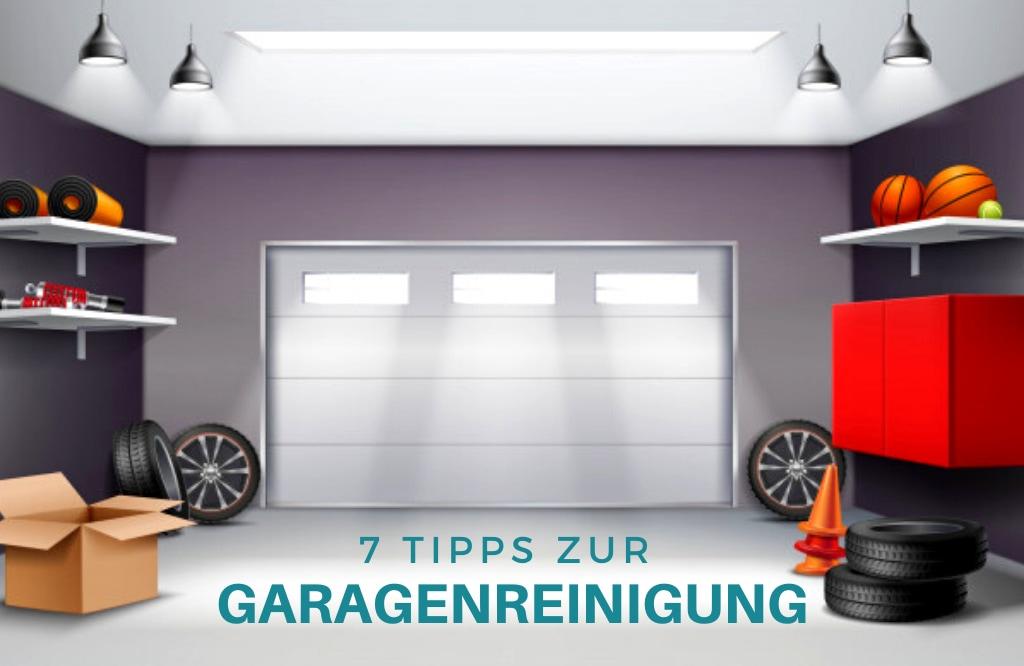 10 Tipps zur Garagenreinigung