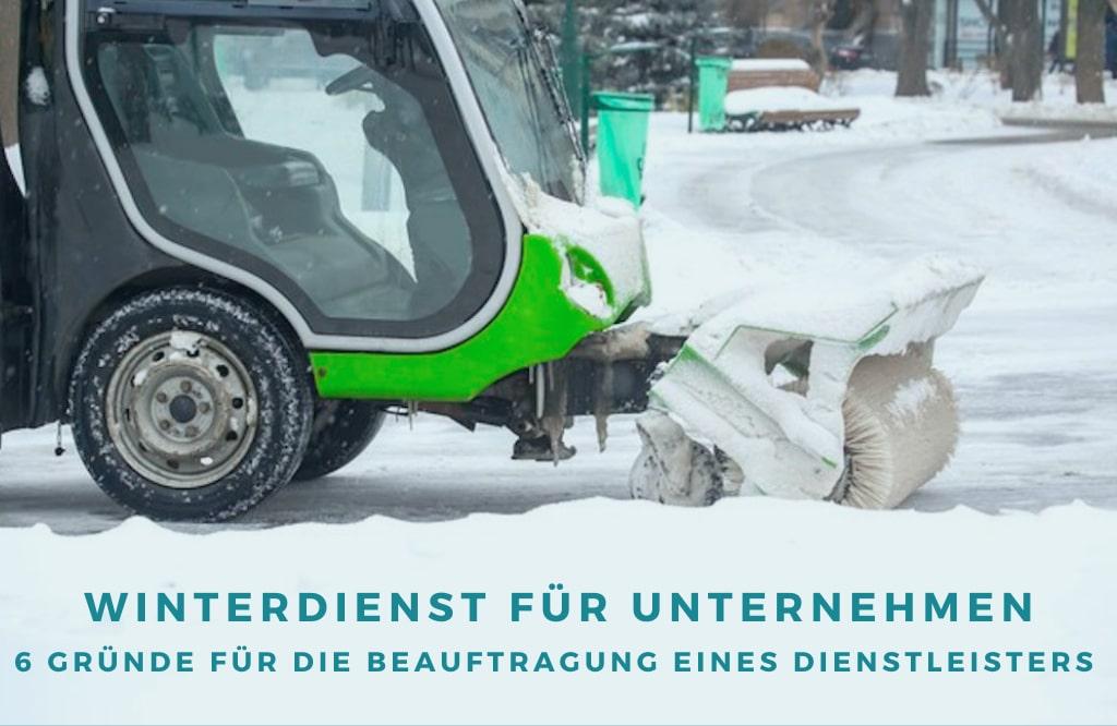 Winterdienst für Unternehmen