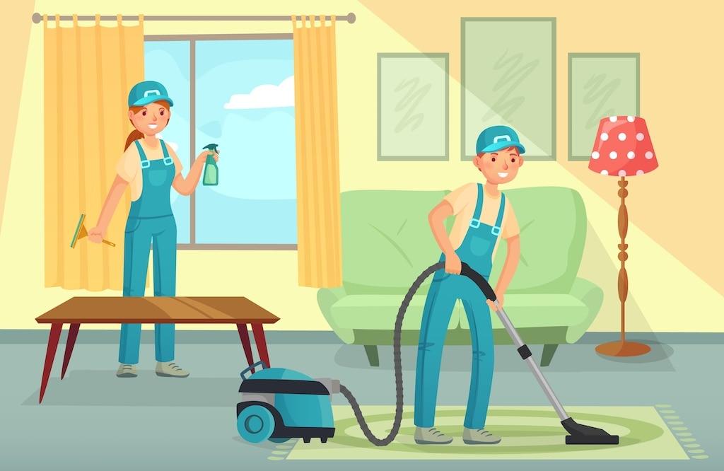 Professionelle Reinigung für Privathaushalte